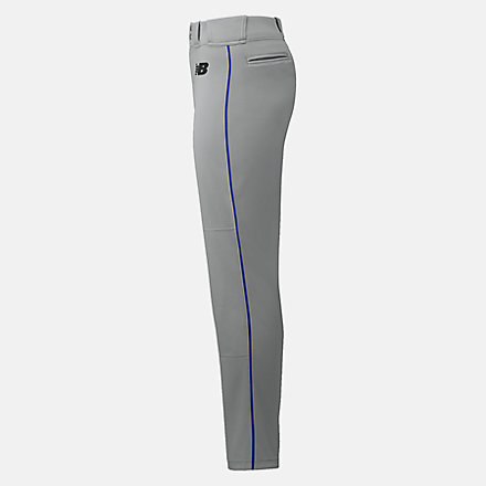 New Balance Adversary 2 Baseball Piped Pant Athletic, BBP216GRR image number null