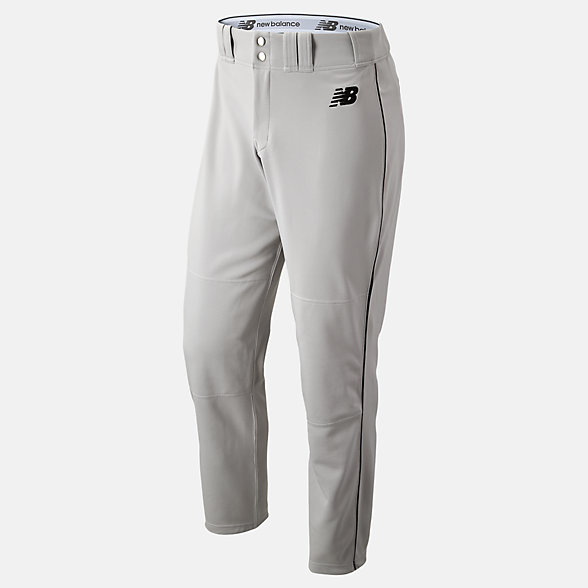 New Balance Adversary 2 Baseball Piped Pant Athletic, BMP216GBK