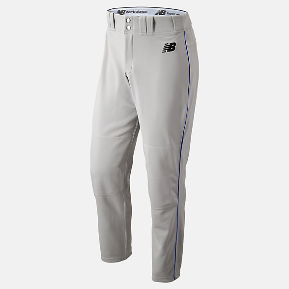New Balance Adversary 2 Baseball Piped Pant Athletic, BMP216GRR