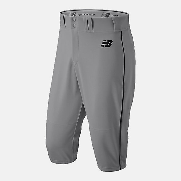 New Balance Adversary 2 Baseball Piped Knicker Athletic, BMP240GBK