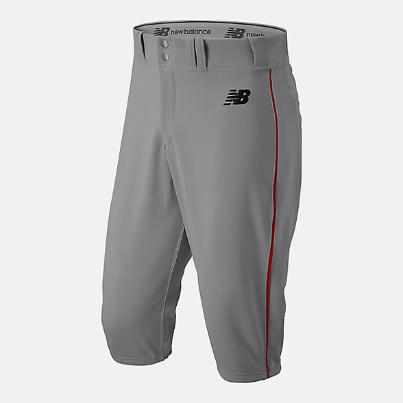 New Balance Adversary 2 Baseball Piped Knicker Athletic, BMP240GRD