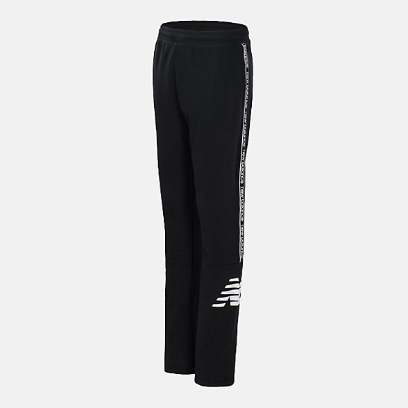 New Balance French Terry Track Pant, BP18238BK