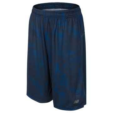 New Balance Printed Performance Fashion Short, Pigment