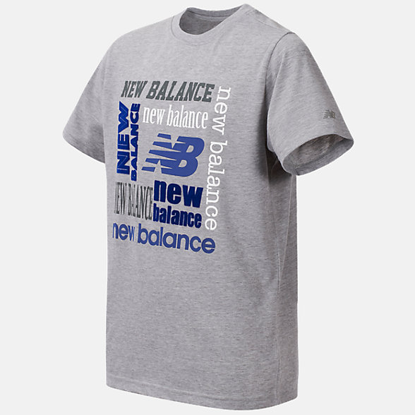 New Balance Short Sleeve Graphic Tee, BT04816GH