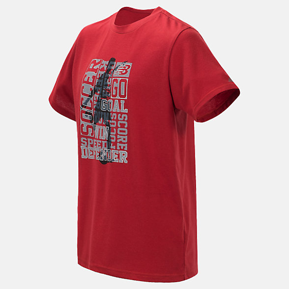 New Balance Short Sleeve Graphic Tee, BT10780TPR