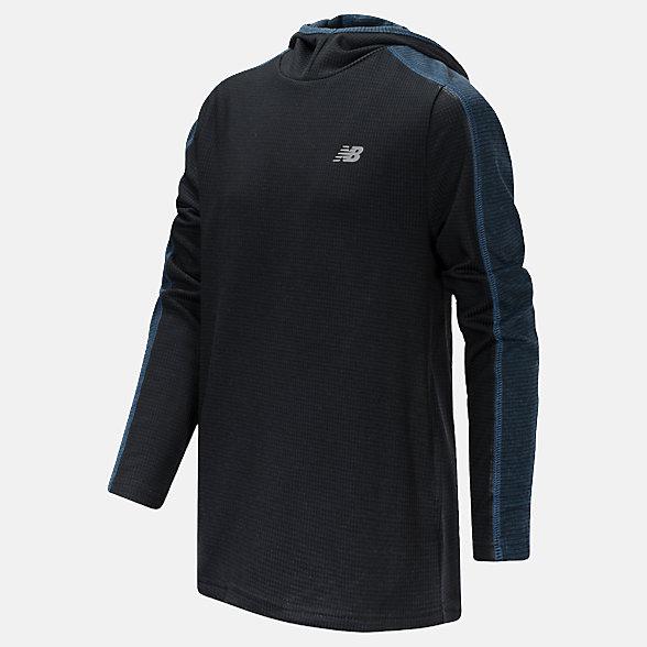 New Balance Hooded Pullover, BT11137BK