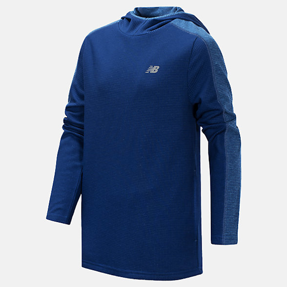 New Balance Hooded Pullover, BT11137TB