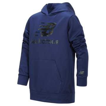 New Balance Graphic Hoodie, Techtonic Blue