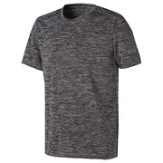 5c8a0dde88ca5 New Balance Short Sleeve Performance Tee, Black with White