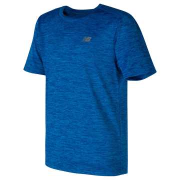 New Balance Short Sleeve Performance Tee, Laser Blue
