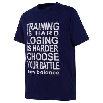 New Balance Short Sleeve Graphic Tee, Basin
