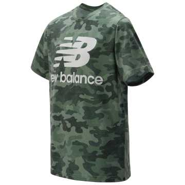 New Balance SS Graphic Tee, Faded Rosin