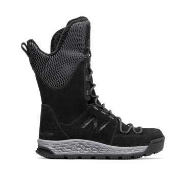 New Balance Fresh Foam 1100 Boot, Black with Light Grey