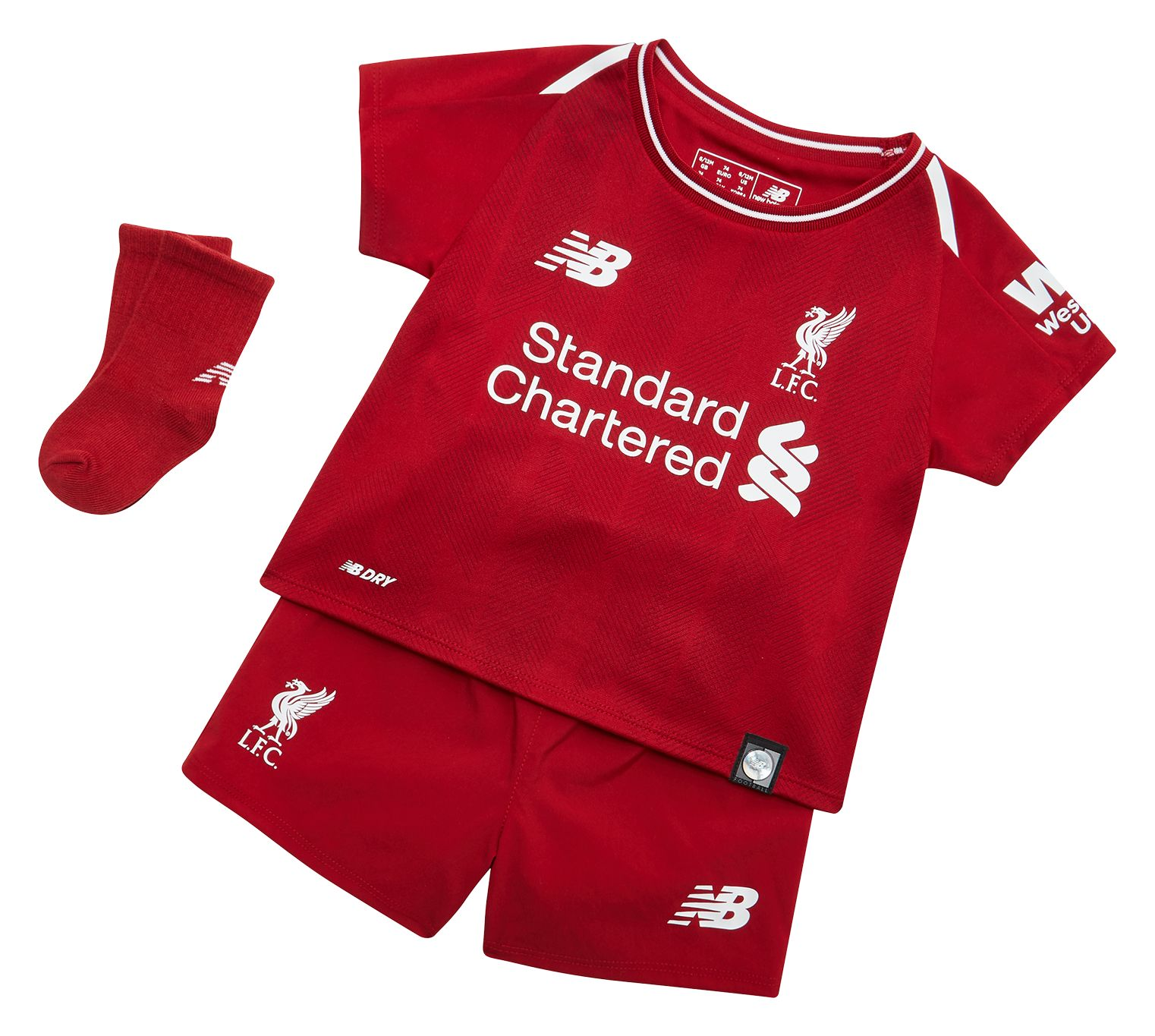 Nb Liverpool Fc Elite Baby Kit Set Red Pepper