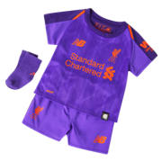 NB LFC Away Baby Kit - Set, Deep Violet