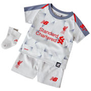 NB LFC 3rd Baby Kit - Set, Grey with Violet