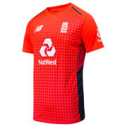 NB ECB Junior Replica Short Sleeve Tee, Flame