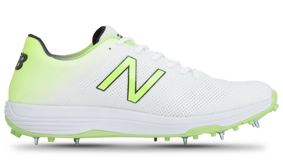 Plain White New Balance Shoes