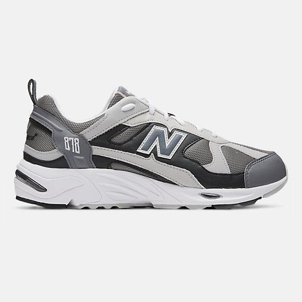 New Balance 878系列男款复古休闲运动鞋, CM878GRY