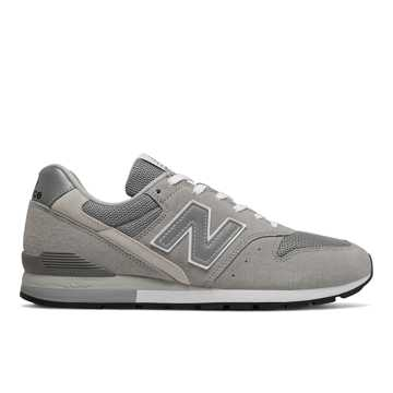 New Balance 余文乐同款996系列男女同款复古休闲鞋, 深灰色