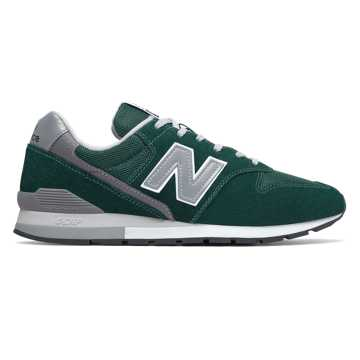 New Balance 996v2, Team Forest Green with Silver