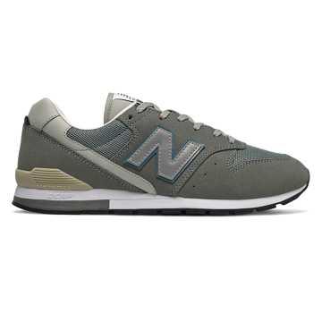 New Balance 余文乐同款996系列男女同款复古休闲鞋, 青瓦色