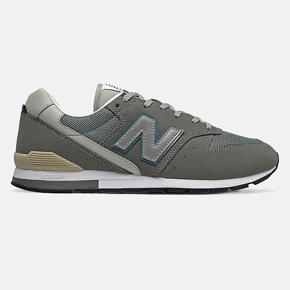New Balance 余文樂同款996系列男女同款復古休閑鞋, CM996CBA