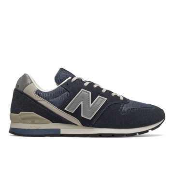 New Balance 996系列男鞋复古休闲鞋, 藏蓝色
