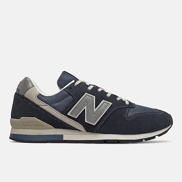 New Balance 996系列男鞋复古休闲鞋, CM996GN