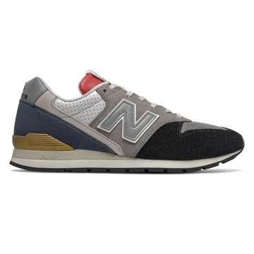 New Balance 996, Black with Eclipse