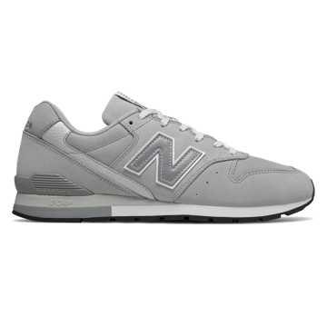 New Balance 996系列男女同款复古休闲鞋, 灰色