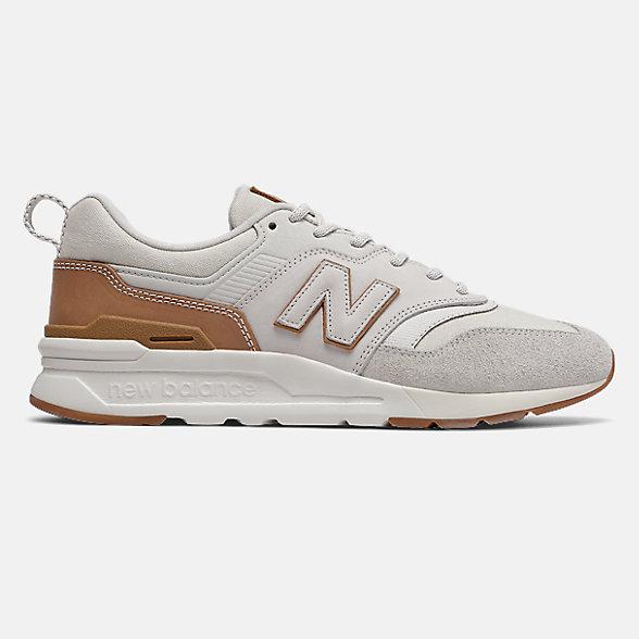 New Balance 997H系列男女同款复古休闲鞋, CM997HAF