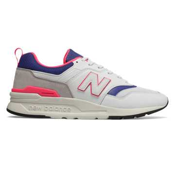 New Balance 997H, White with Laser Blue
