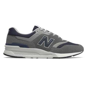 New Balance 997H, Castlerock with Natural Indigo