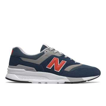 New Balance 997H, Natural Indigo with Neo Flame