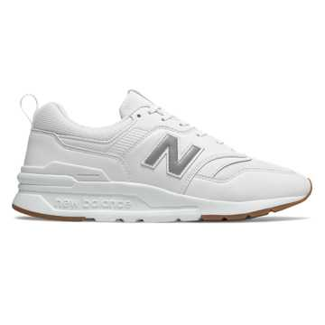 dd02512301 New Balance 997H, White with Silver