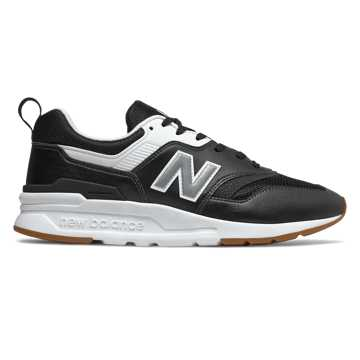 New Balance 997H, Black with Silver