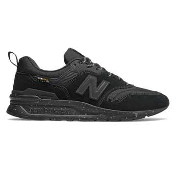 New Balance 997H, Black with Black Caviar