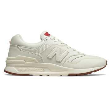 New Balance 997H系列男女同款復古休閑運動鞋, 白色