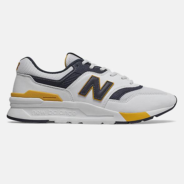 New Balance 997H男女同款復古休閑運動鞋, CM997HDL