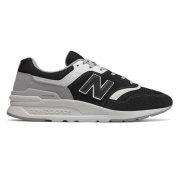 New Balance 997H, Black with Rain Cloud