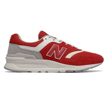 New Balance 997H, Team Red with Rain Cloud