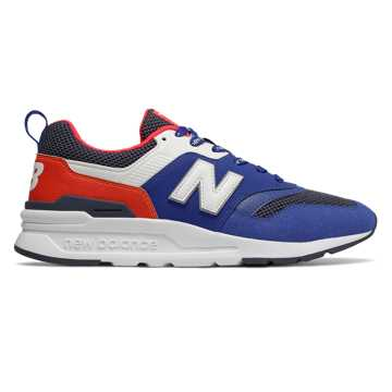 New Balance 997H, Team Royal with Energy Red
