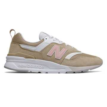 New Balance 997H情人节系列男女同款休闲运动鞋 限量发售, 米色