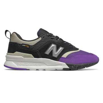 New Balance 997H, Black with Prism Purple