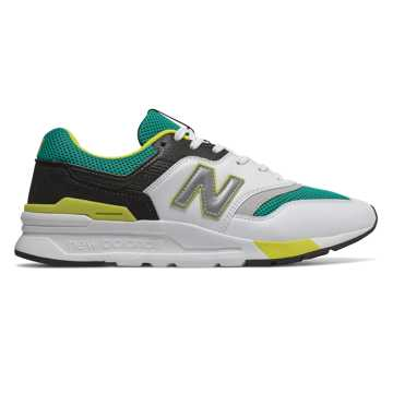 New Balance 997H, Verdite with White