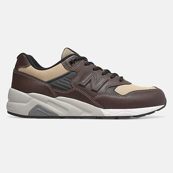 New Balance 580系列男款复古休闲鞋, CMT580BB