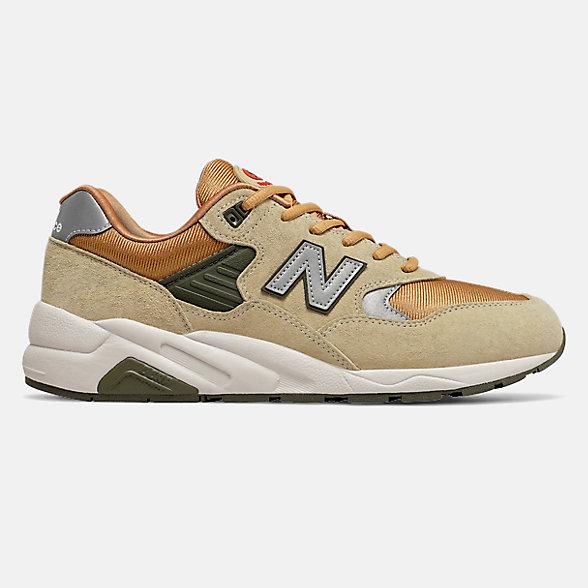 New Balance 580系列男款復古休閑鞋, CMT580BZ