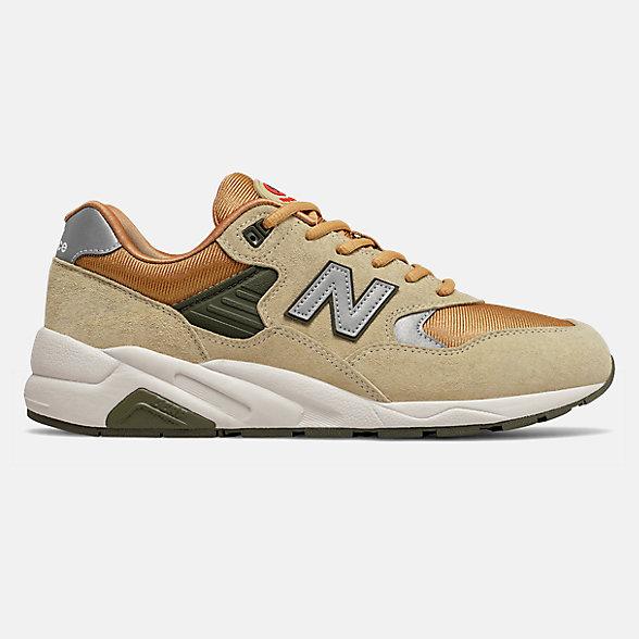 New Balance 580系列男款复古休闲鞋, CMT580BZ