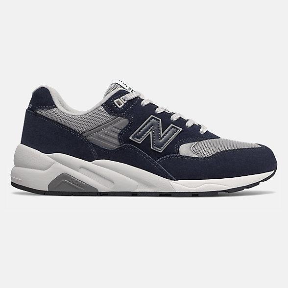 New Balance 580系列男女同款复古休闲鞋, CMT580CB